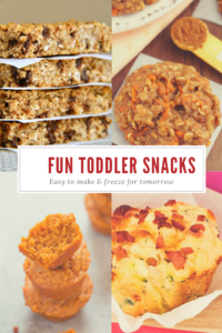 Fun Toddler Snacks from MissusBarnes.com