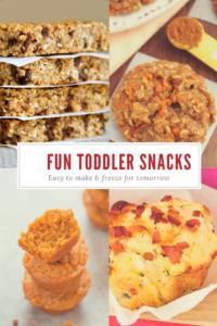 Fun Toddler Snacks from MissusBarnes.com