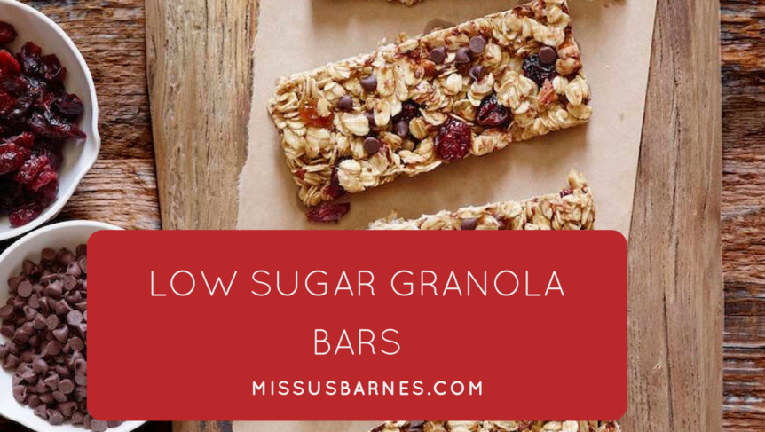 Toddler Snacks - Granola Bars from MissusBarnes.com