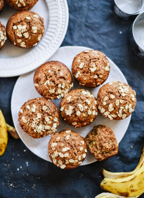 Toddler Snacks - Banana & Honey Muffins from MissusBarnes.com