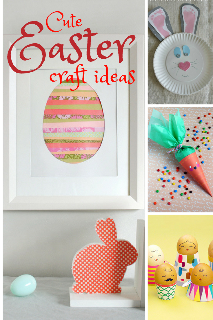 Easy Easter Craft Ideas from MissusBarnes.com