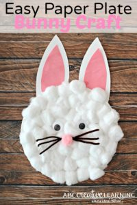 Easy-Paper-Plate-Bunny-Craft-for-Kids from Missusbarnes.com